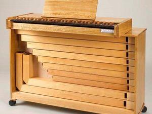 Примерные образцы звучания органа позитива. Ярмарка Мастеров - ручная работа, handmade.