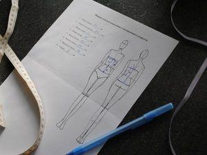 Как снять мерки для изготовления утягивающего корсета | Ярмарка Мастеров - ручная работа, handmade