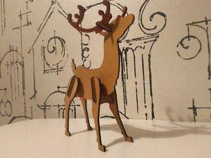 Лесной олень. Ярмарка Мастеров - ручная работа, handmade.