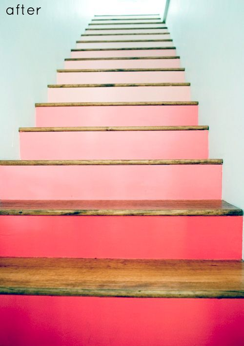 Ombre Stairs Tutorial
