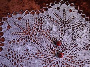 И снова салфеточка Первоцвет от Герберта Ниблинга. Ярмарка Мастеров - ручная работа, handmade.
