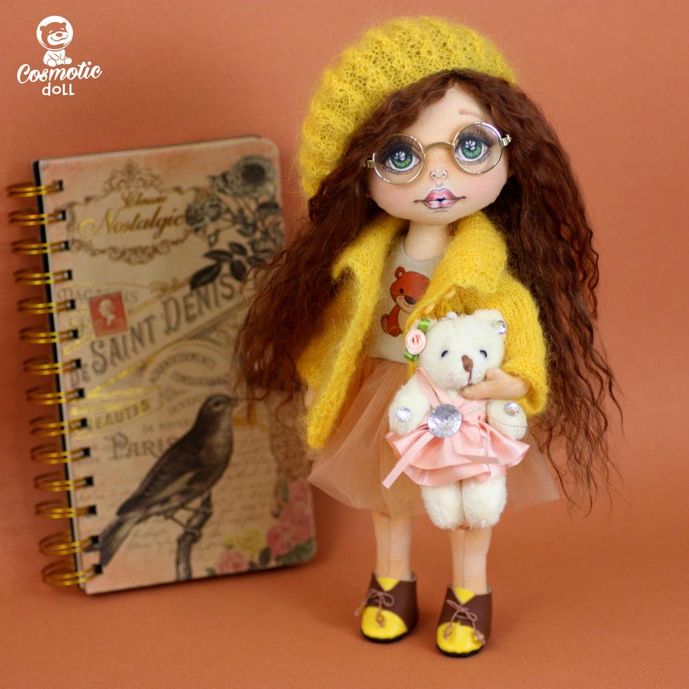 текстильная кукла подарок
