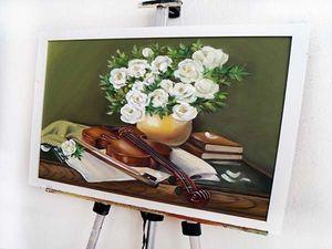 Видеоролик картина Скрипка. Ярмарка Мастеров - ручная работа, handmade.