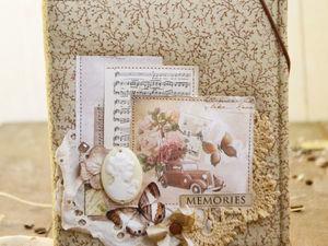 Аукцион винтажного блокнота. Ярмарка Мастеров - ручная работа, handmade.