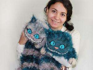 Про чеширских котов для заказчиков и покупателей | Ярмарка Мастеров - ручная работа, handmade