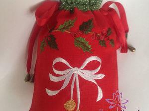Новогодние мешочки. Ярмарка Мастеров - ручная работа, handmade.
