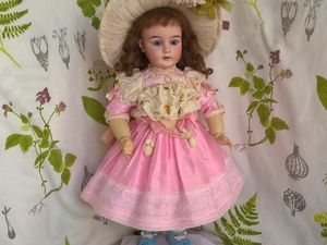 """Платье и шляпа """"Розовый пион"""". Ярмарка Мастеров - ручная работа, handmade."""