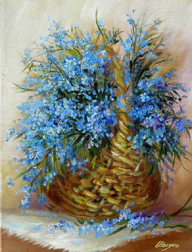 аукцион у ксении, полевые цветы