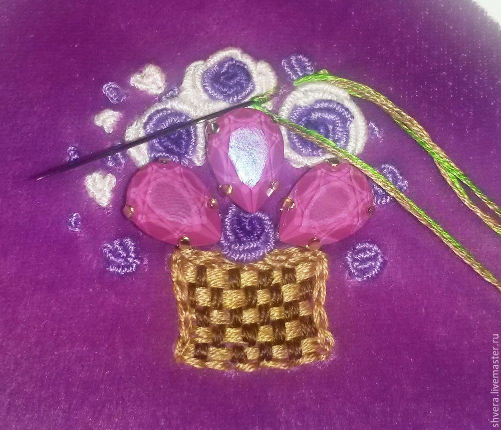Шьем очаровательный кошелек в винтажном стиле, фото № 14