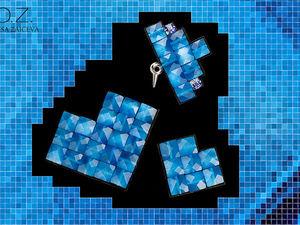 Новая коллекция Pixels - Пиксели | Ярмарка Мастеров - ручная работа, handmade