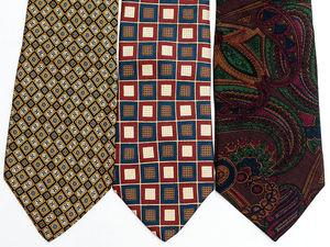 Набор шелковых галстуков. Ярмарка Мастеров - ручная работа, handmade.