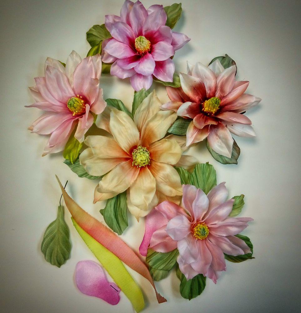 Курс шёлковой флористики. С 15 октября и до мая!, фото № 1
