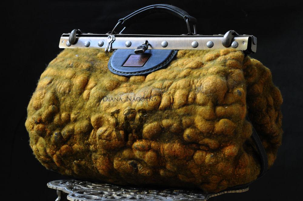войлок, мк по валянию, войлочная сумка