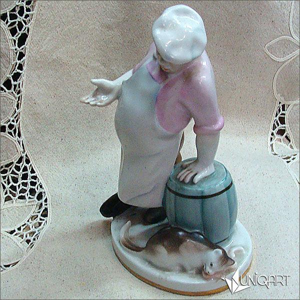антикварный фарфор, винтаж, фарфор, советский фарфор, купить фарфор, скульптурная миниатюра, фарфор винтаж