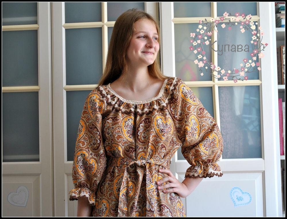 бохо стиль, русские узоры, красивое платье