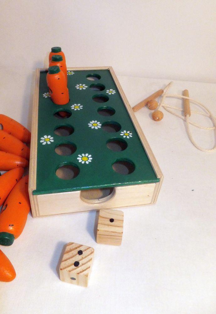 морковки, игра малышам, настольный сортер