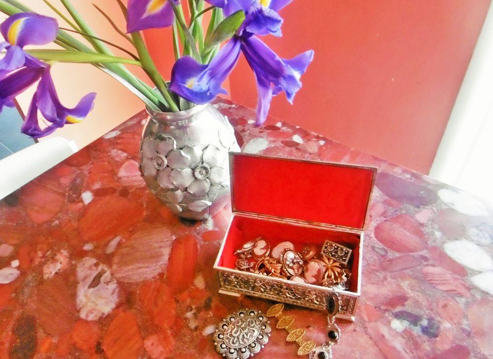 анина шкатулка, французские украшения