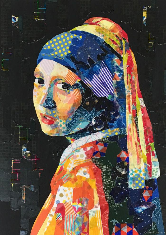 Шедевры из декоративного скотча: оригинальные работы Nasa Funahara