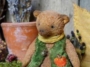 Осенний мишка Тыковка. Ярмарка Мастеров - ручная работа, handmade.