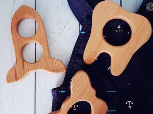 Уход за деревянными грызунками и погремушками. Ярмарка Мастеров - ручная работа, handmade.