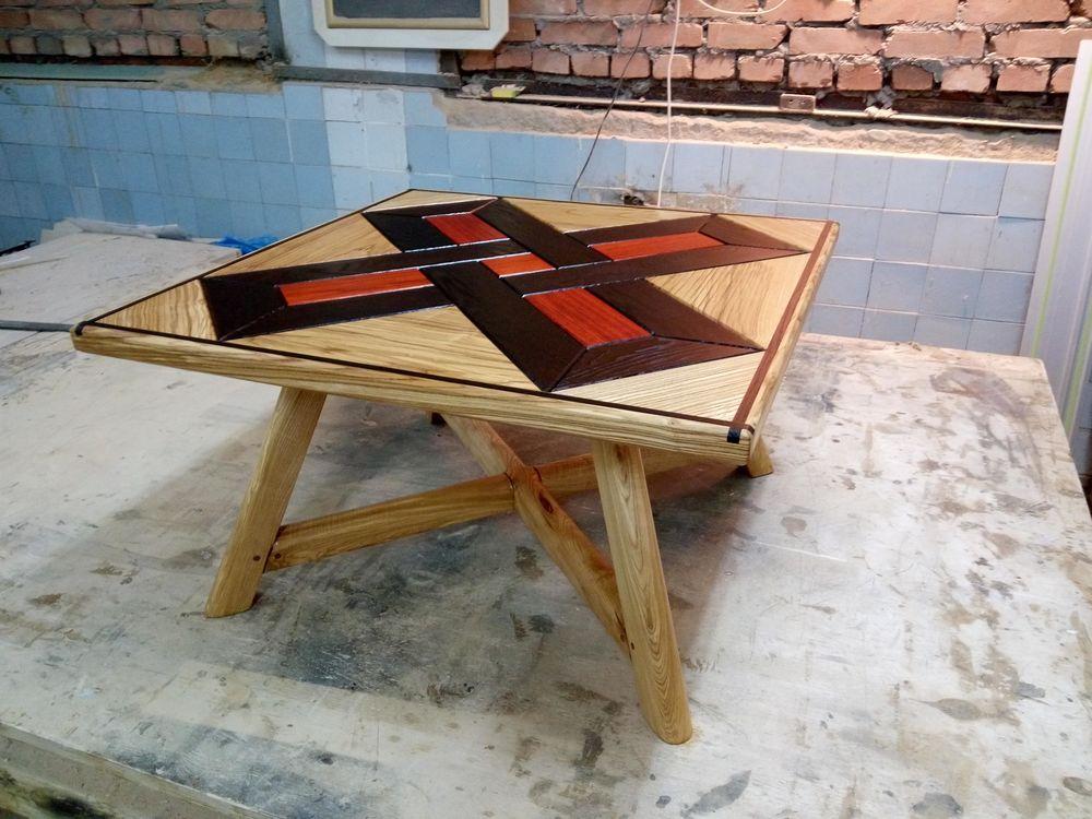 мебель из массива, журнальный стол, падук