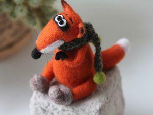 Новая игрушка Лис Зимний!. Ярмарка Мастеров - ручная работа, handmade.