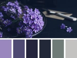 Роскошный и загадочный фиолетовый цвет. Ярмарка Мастеров - ручная работа, handmade.