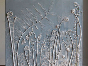 Rachel Dein: мастер гипсовых гербариев. Ярмарка Мастеров - ручная работа, handmade.