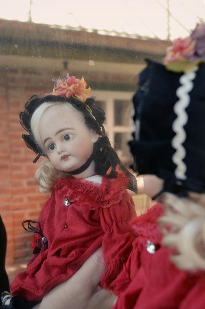 антиквариат, авторская кукла, ручная авторская работа