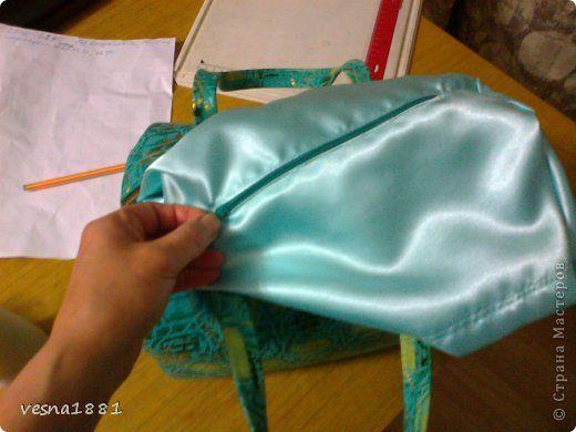 Гардероб Мастер-класс Шитьё Пошив кожаной сумки своими руками Кожа фото 19