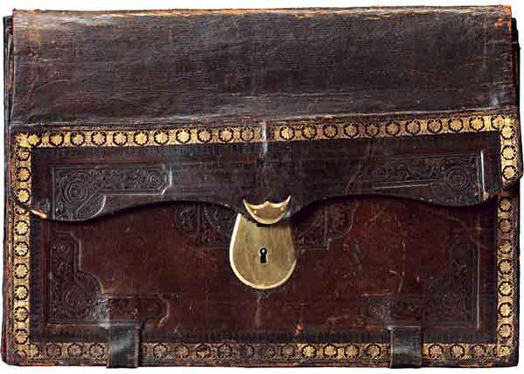 мужской портфель, история