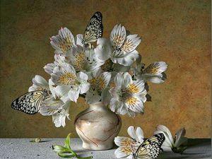 Цветок, который сорвал ветер. | Ярмарка Мастеров - ручная работа, handmade