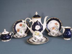 Чайно кофейный сервиз в стиле барокко. Германия. Ярмарка Мастеров - ручная работа, handmade.