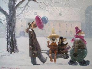 Добрая зима Андрея Репникова. Ярмарка Мастеров - ручная работа, handmade.