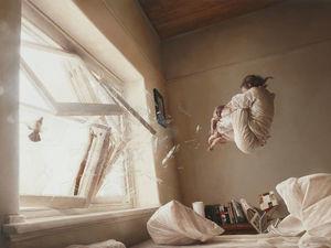 Застывшее мгновение и чувство невесомости в работах австралийского художника Jeremy Geddes. Ярмарка Мастеров - ручная работа, handmade.