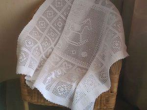 Покрывальце для вашего Малыша   Ярмарка Мастеров - ручная работа, handmade