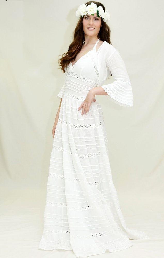 Белое бохо, или Шикарная одежда для королевы летнего пляжа, фото № 77