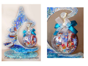 Купить новогодние подарки и сувениры на аукционе дешевле. Ярмарка Мастеров - ручная работа, handmade.