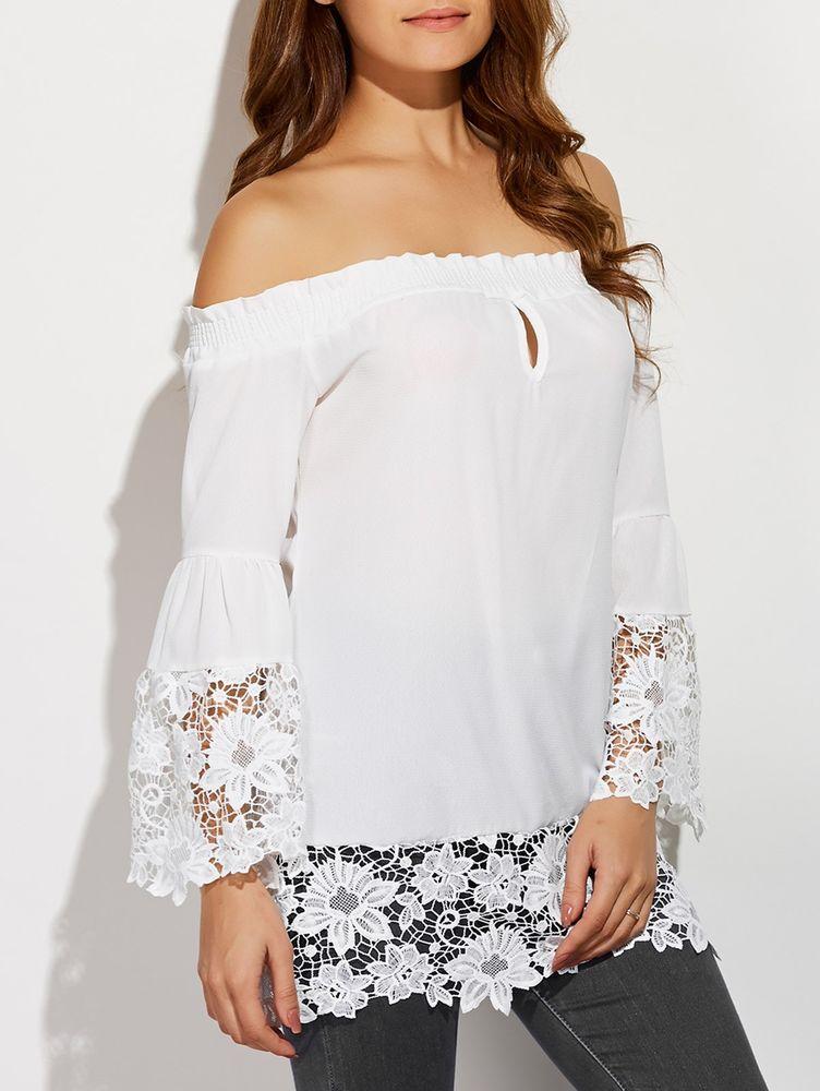 Белое бохо, или Шикарная одежда для королевы летнего пляжа, фото № 43