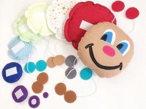 Шьем для малыша развивающую игрушку «Гусеницу»: видео мастер-класс. Ярмарка Мастеров - ручная работа, handmade.