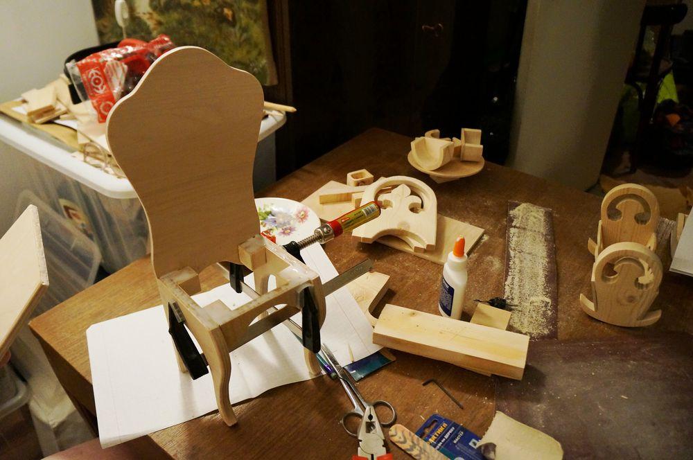 пополнение ассортимента, новинка магазина, стул для куклы