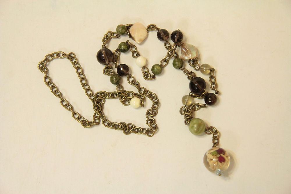 Авторские украшения из жемчуга и натуральных камней своими руками, фото № 28