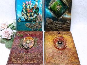 Ежедневник — полезный подарок. Ярмарка Мастеров - ручная работа, handmade.