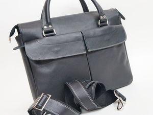 Скидка на деловую сумку!!!. Ярмарка Мастеров - ручная работа, handmade.