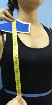 Длина талии переда