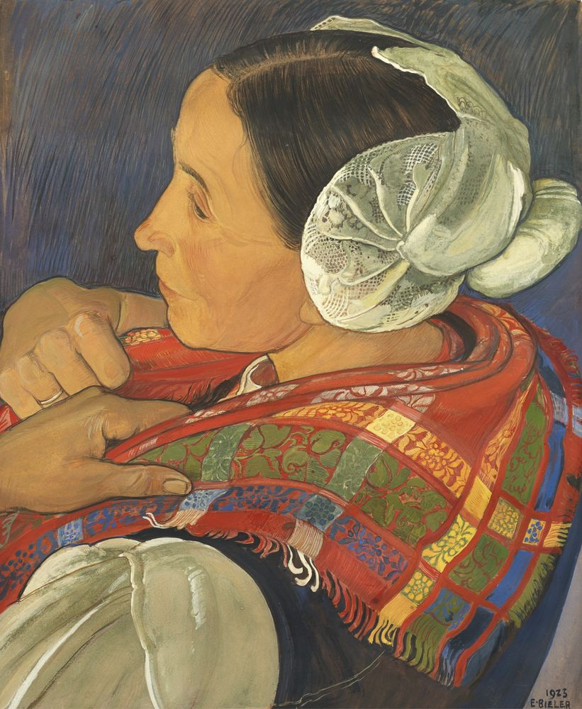 Швейцария в картинах Ernest Biеler