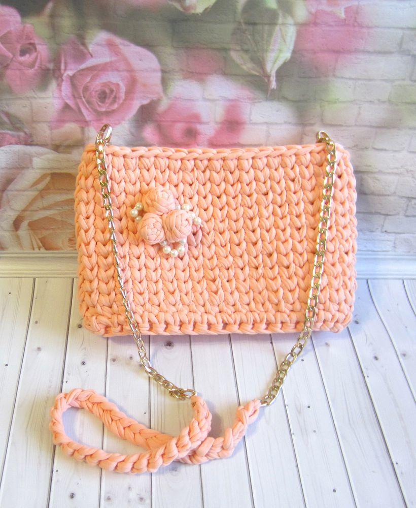 аукцион, купить подарок, модная сумка, вязаная сумка, сумка на цепочке, объемная вышивка, летняя сумочка, распродажа
