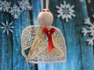 Рождественский ангел. Ярмарка Мастеров - ручная работа, handmade.
