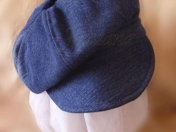 Шьем джинсовое кепи   Ярмарка Мастеров - ручная работа, handmade