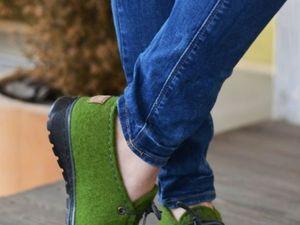 Индивидуальный МК по валянию обуви   Ярмарка Мастеров - ручная работа, handmade